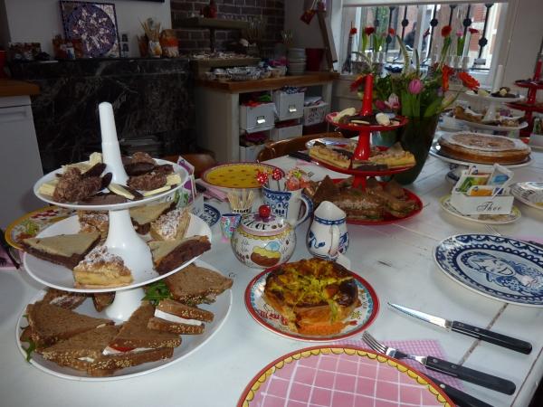 kookworkshop high tea in brabant tilburg